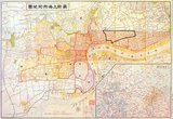 The map is in Chinese and some English, but may have been made by or under the auspices of the Japanese who occupied the area of Shanghai including the (as yet unformed) 'Jewish Ghetto' in 1937 following the Battle of Shanghai. The 'Shanghai Ghetto' was established by the Japanese Occupation Authorities in 1941 and liberated in 1945.